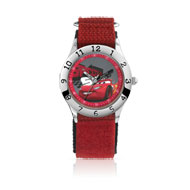 Montre Cars enfant chromée bracelet nylon Disney