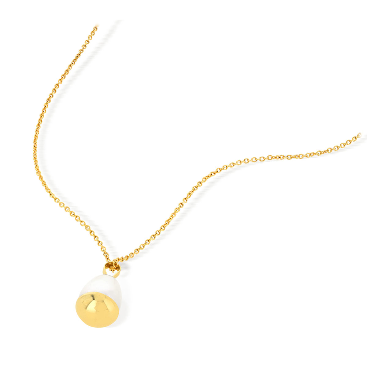 Collier MATY Or 375 jaune Perle de culture de chine - vue V4