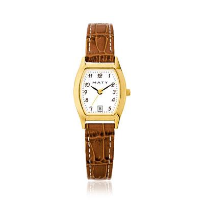 Montre femme bracelet cuir , vue V1