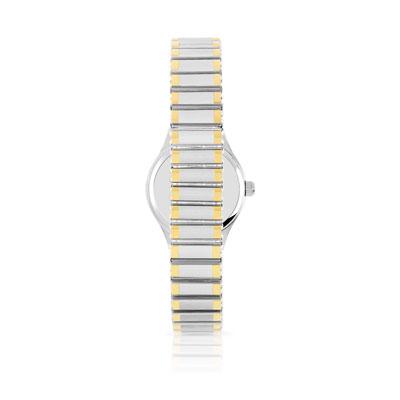 Montre femme bracelet acier bicolore , vue V2