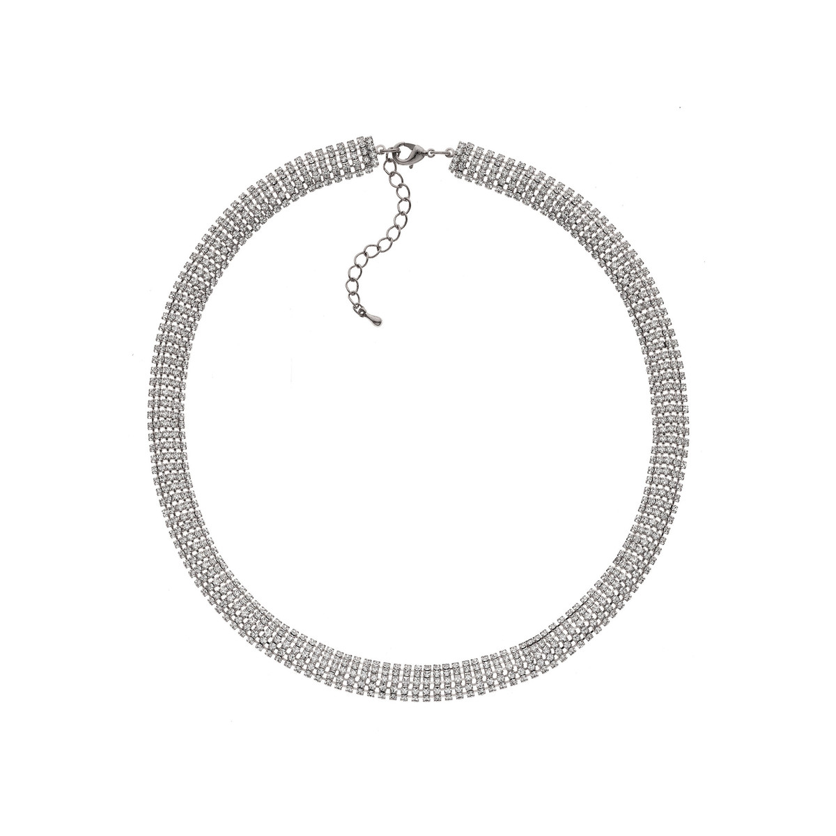 Collier fantaisie cristal