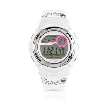ffa843a14654d Montre adolescent affichage digital bracelet caoutchouc