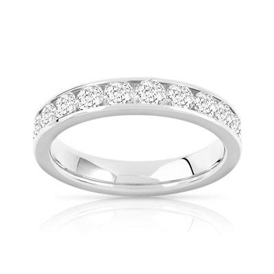 alliance or 750 blanc diamant femme 23 diamants maty. Black Bedroom Furniture Sets. Home Design Ideas