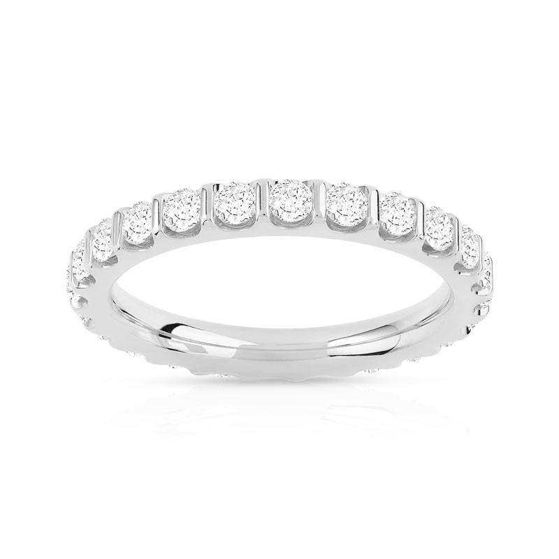 alliance or 750 blanc diamant femme 24 diamants maty. Black Bedroom Furniture Sets. Home Design Ideas