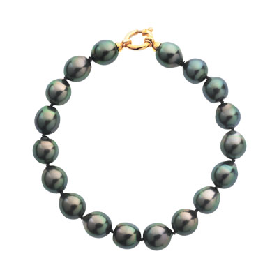 bracelet or 750 jaune perles de culture de tahiti femme bracelet maille souple maty. Black Bedroom Furniture Sets. Home Design Ideas