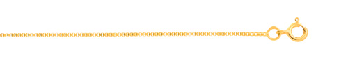 Chaîne maille vénitienne or 750 jaune 40 cm