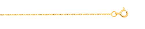 Chaîne maille vénitienne or 750 jaune 45 cm