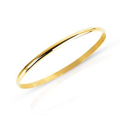 bracelet jonc or 750 jaune femme bracelet rigide maty. Black Bedroom Furniture Sets. Home Design Ideas