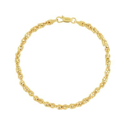 Bracelet or 750