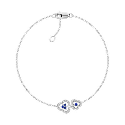 bracelet femme saphir