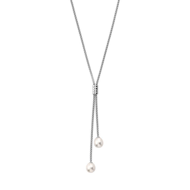 collier argent 925 perle de culture de chine femme collier maty. Black Bedroom Furniture Sets. Home Design Ideas