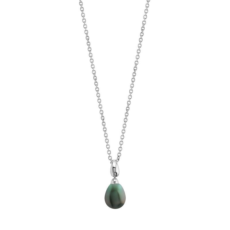 collier argent 925 perle de culture de tahiti femme collier maty. Black Bedroom Furniture Sets. Home Design Ideas