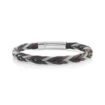 083f1f7b8c1 Bracelet Cuir Tressé pour Homme sur MATY.com