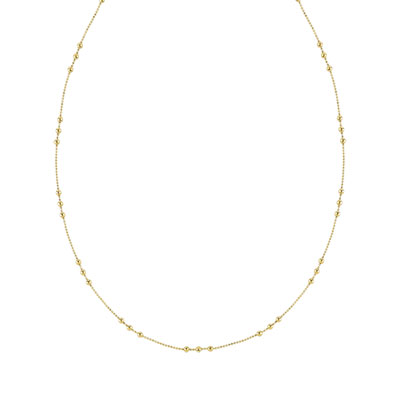 Collier plaqué or 45 cm