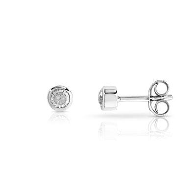 boucles d 39 oreilles argent zirconia femme clous d 39 oreilles maty. Black Bedroom Furniture Sets. Home Design Ideas