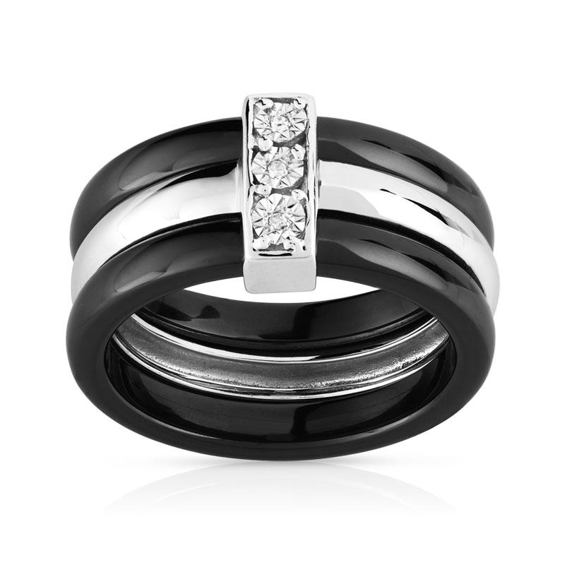 bague diamant ceramique