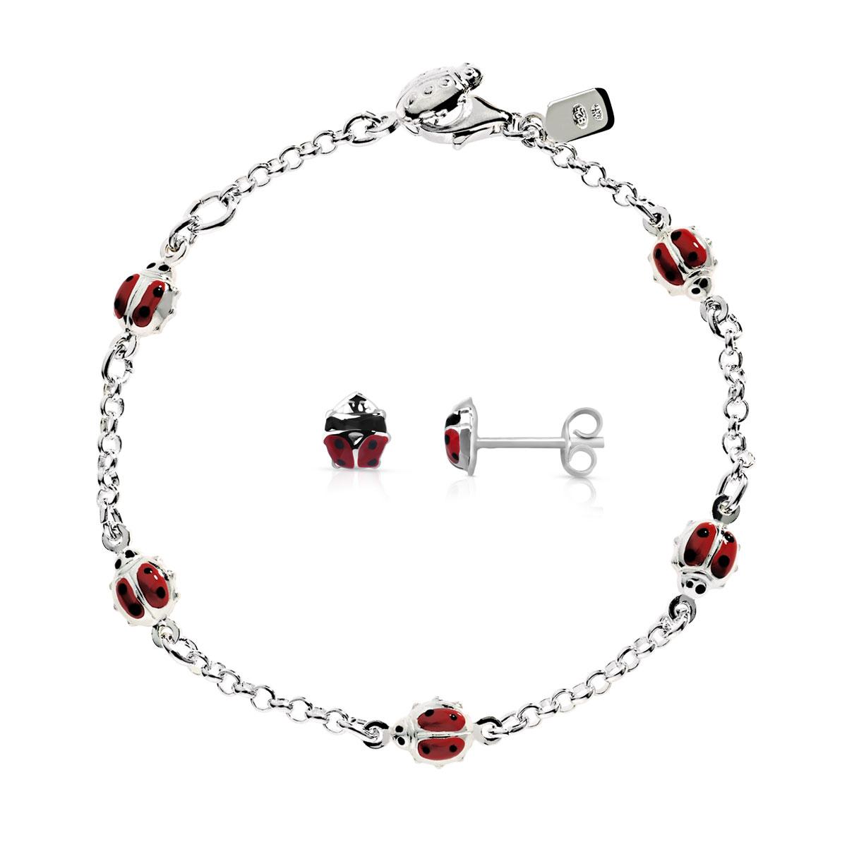 achat le plus récent comment acheter magasiner pour le meilleur Parure bracelet et boucles d'oreilles argent 925