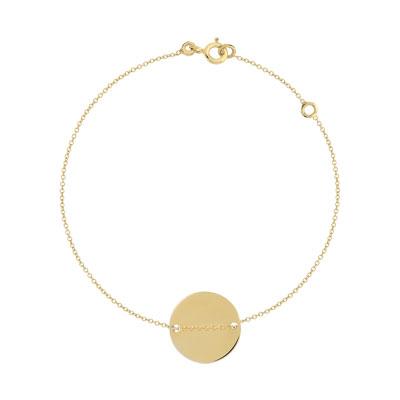 Bracelet or 375 jaune