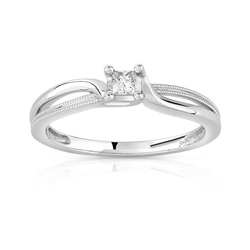 bague or 375 blanc diamant et rubis femme bague maty. Black Bedroom Furniture Sets. Home Design Ideas