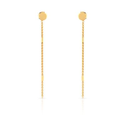 Boucles d oreilles or 375 jaune