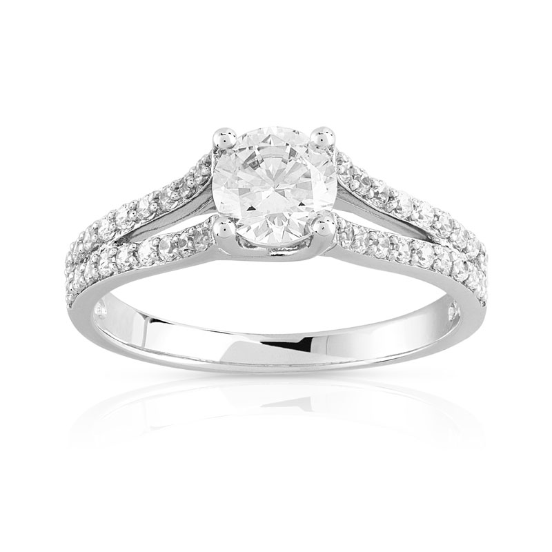 Sehr Engagement Ring Settings: Bague De Fiancaille Pas Cher Maty IG18