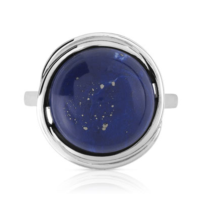 bague argent 925 lapis lazuli femme bague maty. Black Bedroom Furniture Sets. Home Design Ideas