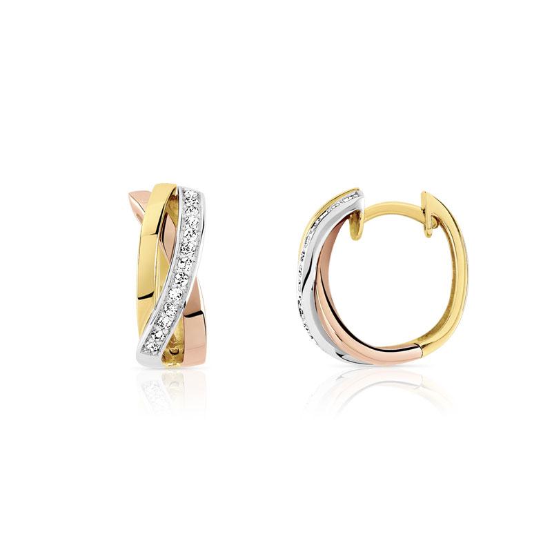 code promo f7132 05339 Creoles 3 ors 750 diamant
