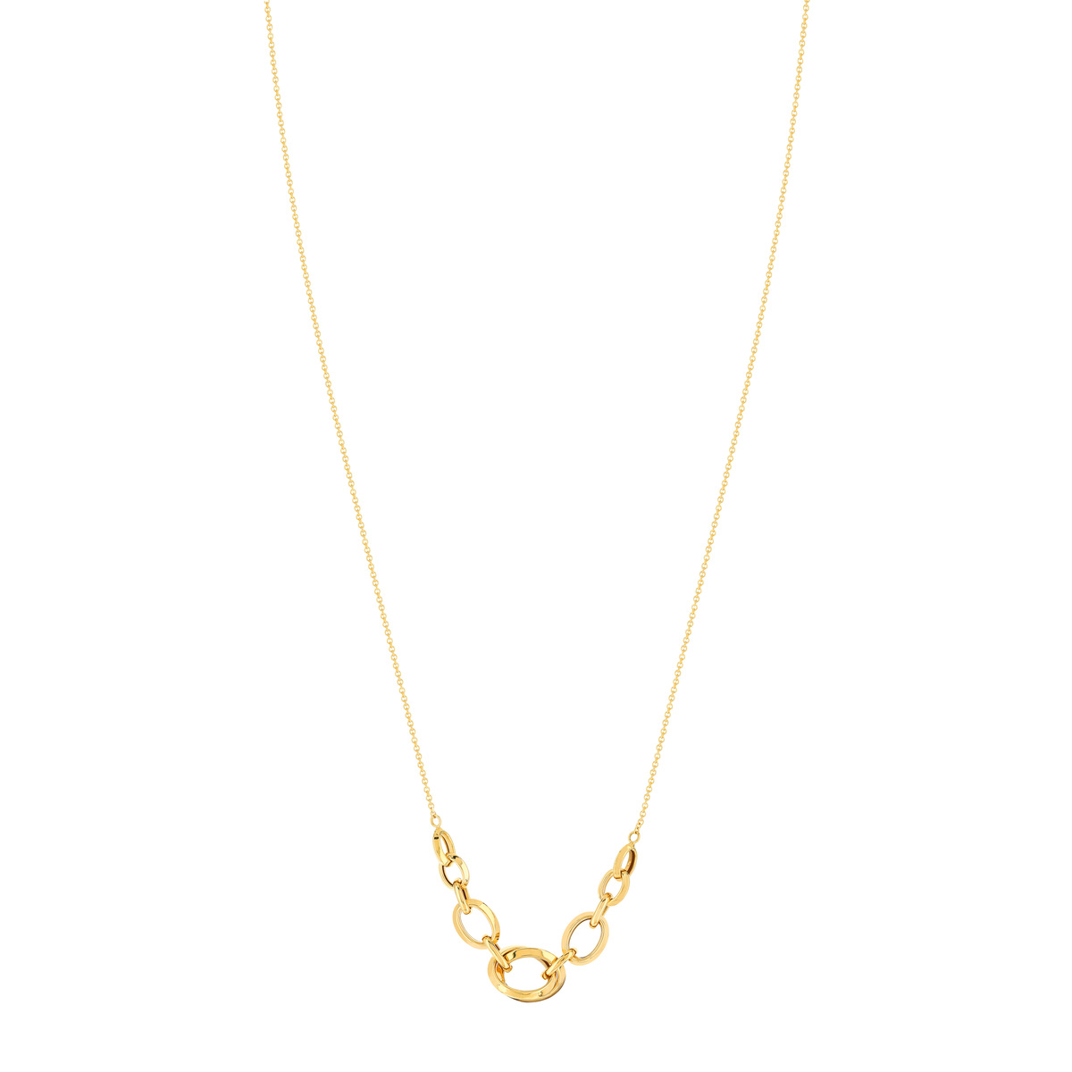 Collier or 750 42 cm - vue 1