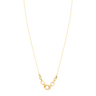 Collier or 750 42 cm