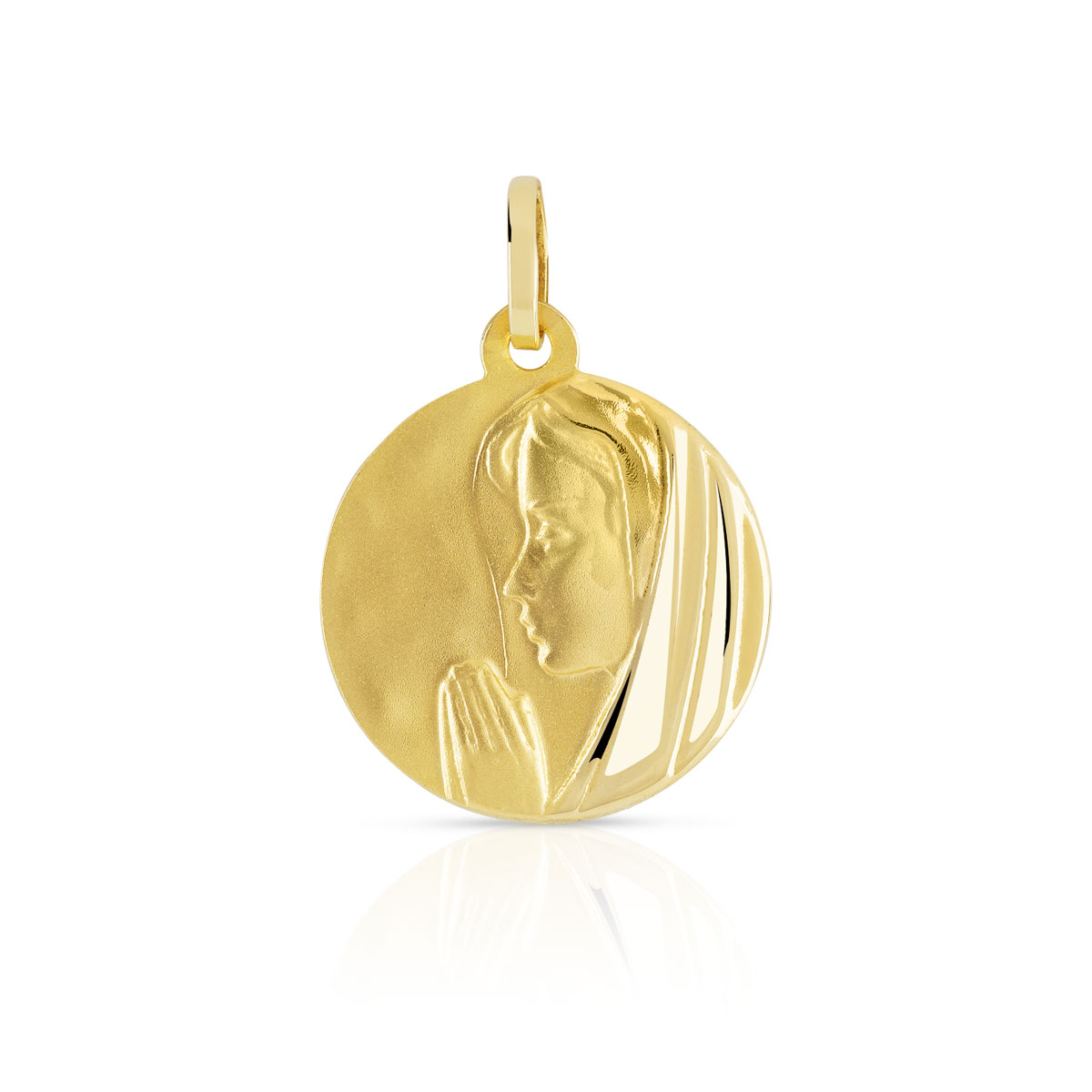 Medaille or 750 jaune