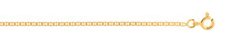 Chaîne maille marine or 750 jaune 45 cm