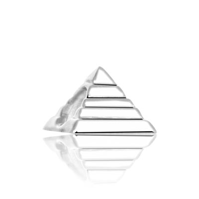 Charm's pyramide argent 925