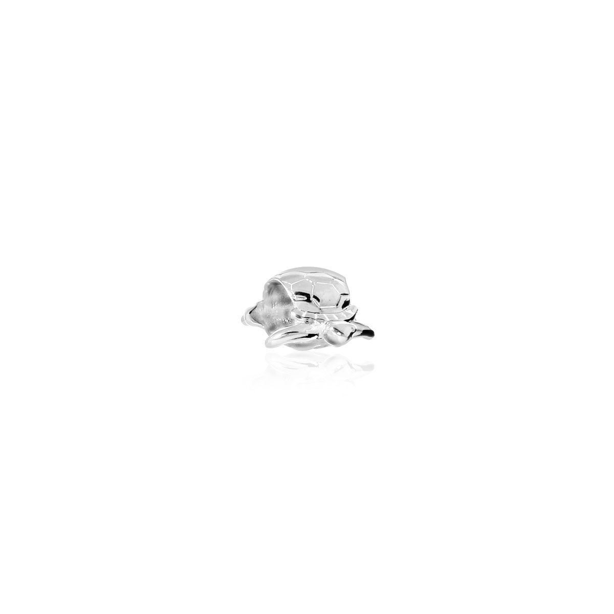 Charm's tortue argent 925 - vue V1