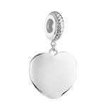 Charm's coeur argent 925
