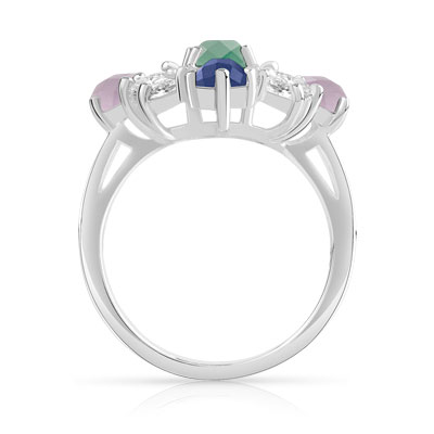 Bague argent 925 collection Marion Bartoli by MATY - vue 2
