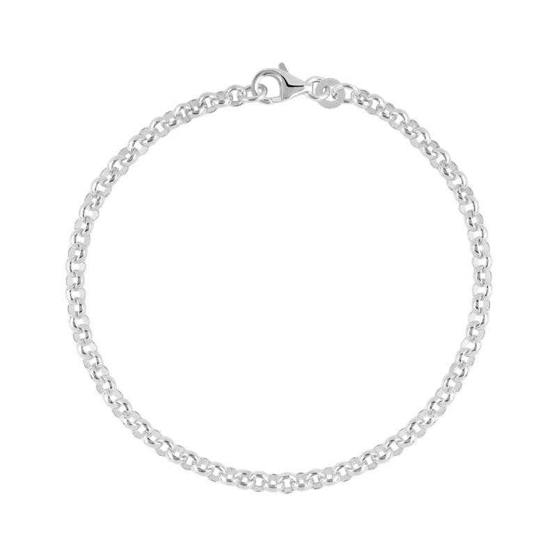 regard détaillé 1ae89 a4edc Bracelet argent 925 maille jaseron