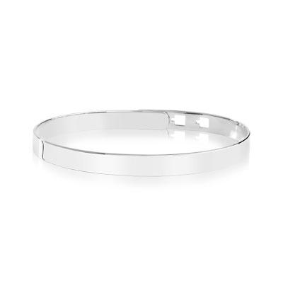 Bracelet jonc rigide femme or
