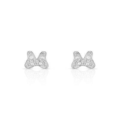 Boucles d'oreilles argent bebe