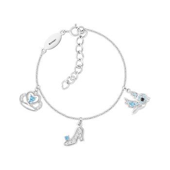 Bracelet Disney argent 925 zirconia