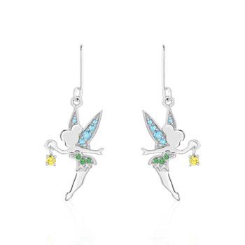 Boucles d'oreilles Disney argent 925 zirconia