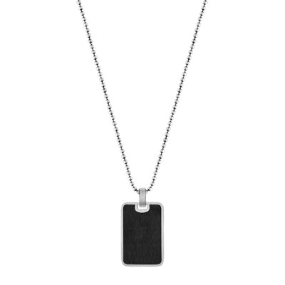 Collier argent 925 email - vue 1