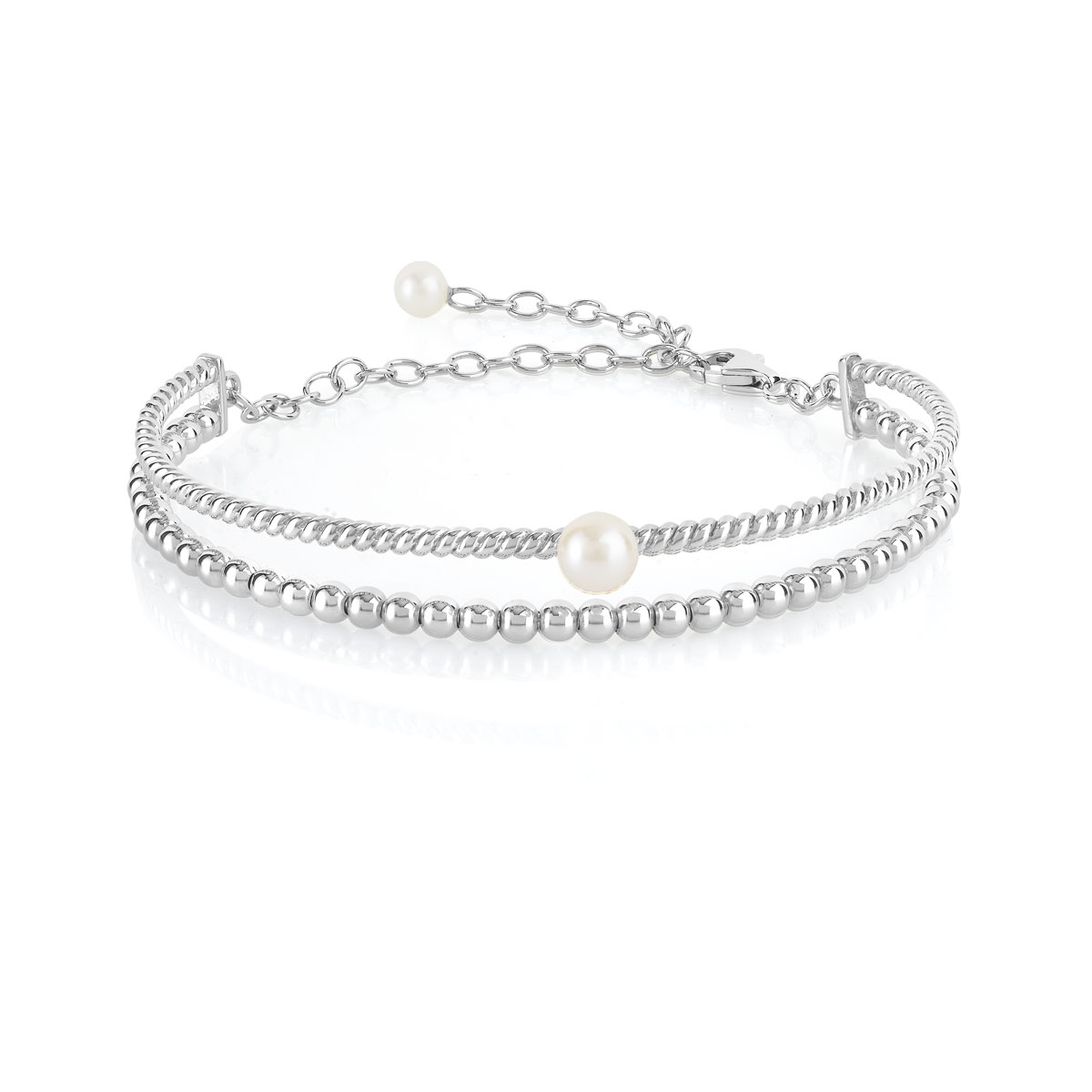 grand choix de 0eb62 f68ab Bracelet argent 925 perles de culture