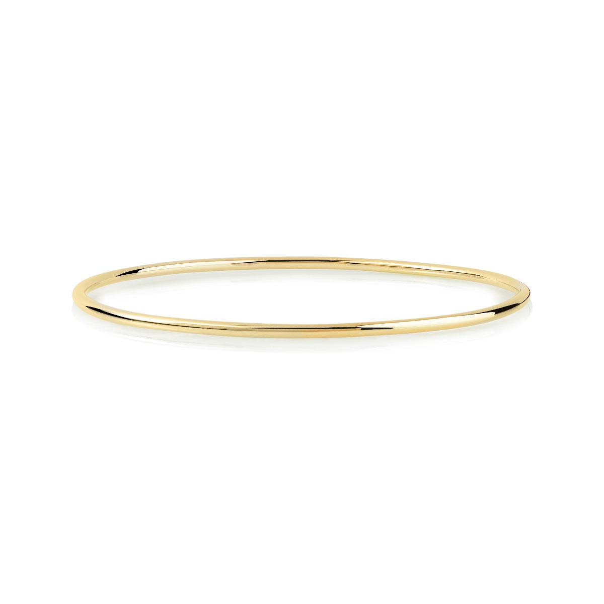 Bracelet jonc plaqué or
