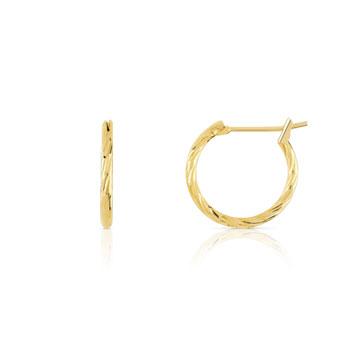 Boucles d oreilles femmes -plaque or   MATY aad08e91cb2b