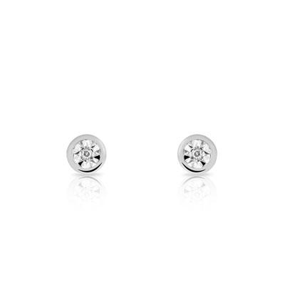 boucle d'oreilles en diamant