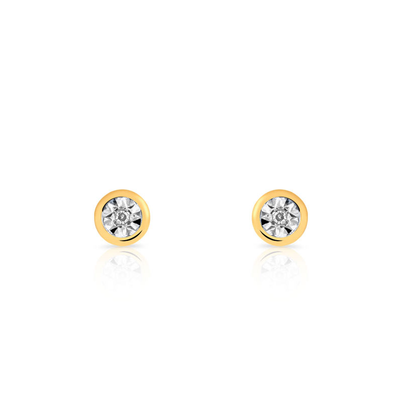 clou d oreille diamant bijoux sur enperdresonlapin. Black Bedroom Furniture Sets. Home Design Ideas