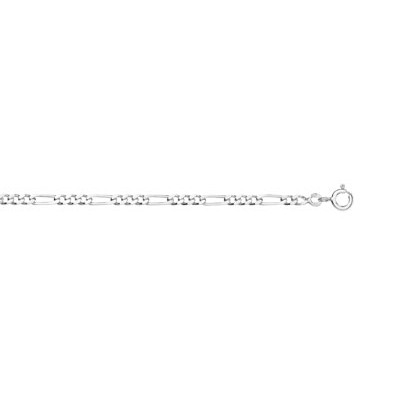 Chaine maille cheval argent 925 45 cm