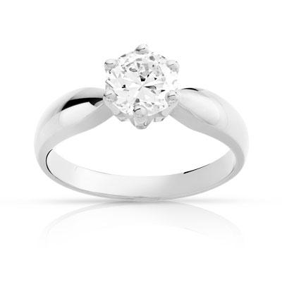 bague diamant 1 carat prix
