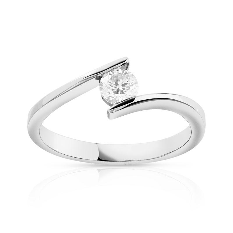 bague diamant solitaire maty