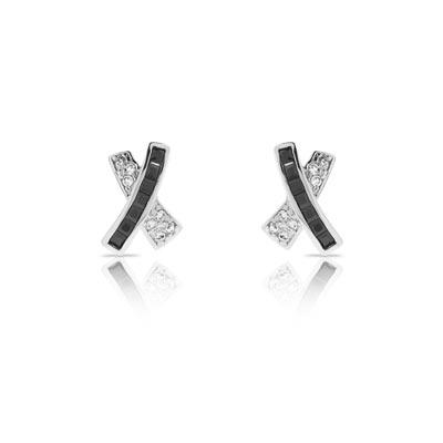 Boucles d'oreilles argent 925 zirconia